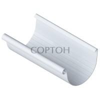 Желоб 125*3000 мм Альта-Профиль белый