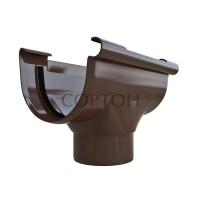 Воронка водосточная Альта-Профиль коричневая