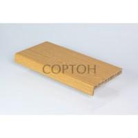 Подоконники Crystalit дуб натуральный глянец 100 мм