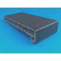 Подоконник Moeller LD-40 150 мм серый клин тач (Clean Touch)